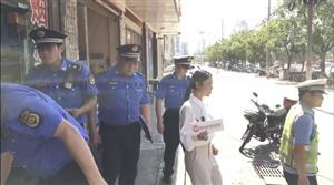 速速围观!麻城交警大队联合城管执法直播正在进行中,场面十分精彩!