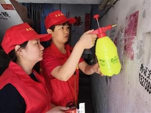 """满城西城社区开展""""营造良好环境,共建美丽家园""""志愿服务活动"""