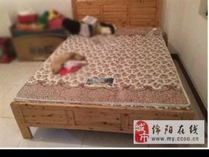 矮木床+薄床垫