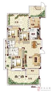 首层私家花园洋房,面积约120.76-123.27�O