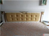 全新未用欧式1.8米床包垫二手1.5米实木床包床垫