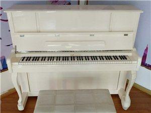 全新上海意克莱钢琴 买来不到三个月
