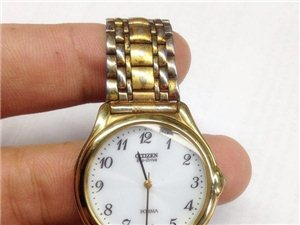 正品二手西铁城光动能手表