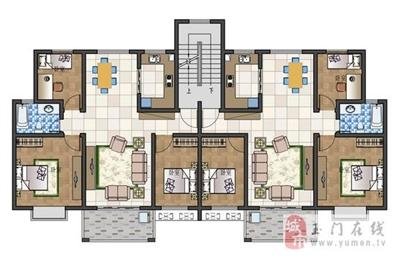 多层105平米三室两厅