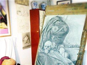 寒冷的冬天來美術畫室暖暖地度過