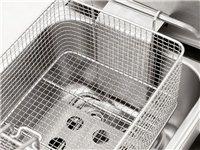 超厚不锈钢电炸锅-双温控探头-经久耐用-不糊锅
