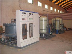 西安环科高浓盐水设备正式投产
