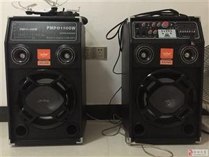 850元买的大音箱,成色新,没问题,促销唱歌均可