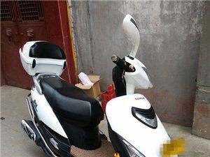 豪爵海王星豪华125大踏板摩托车转让