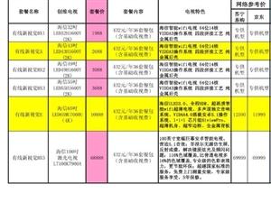河南有线品牌电视年度促销