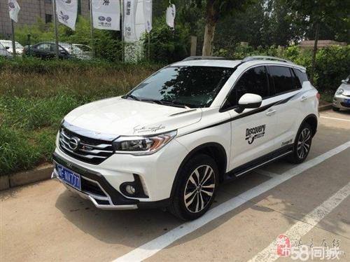 广汽 传祺GS4 2015款 1.3T 自动 200T豪华版