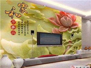 红果3D5D背景墙个性定做厂家直销