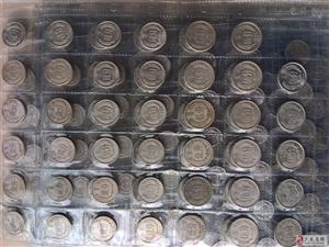 1955-2015年新中国发行的硬分币大全套73枚