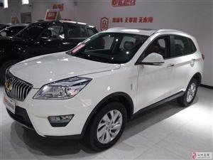 北汽威旺S50白色越野SUV