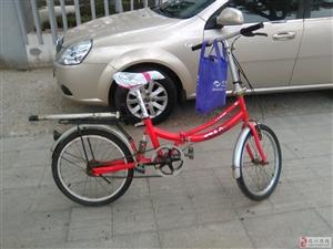 低价出售24折叠自行车