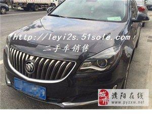 濮阳二手别克君威1.6T精英技术型轿车
