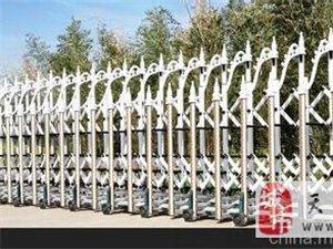 天津大港区电动伸缩门平移门定做维修厂家