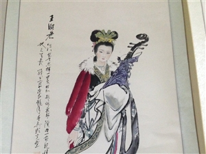 抱琴王昭君(三尺)