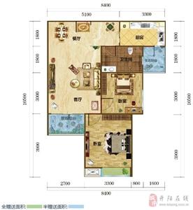 7���粜�B �墒��d一�l 建筑面�e�s81.16�O