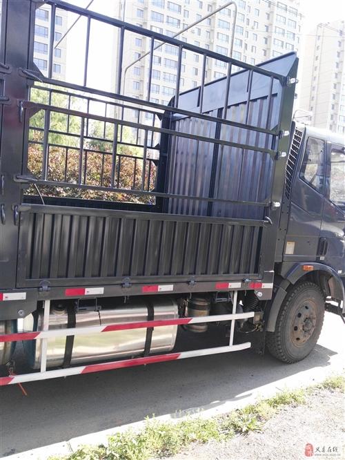 出售解放j6.6米8高欄貨車
