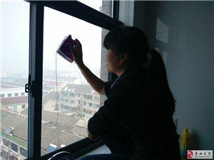 秀山專業保潔,擦玻璃