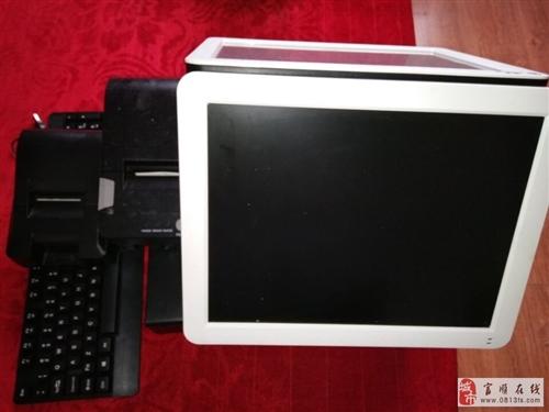 出售用了一个月的收银机支持后台出单双显示器