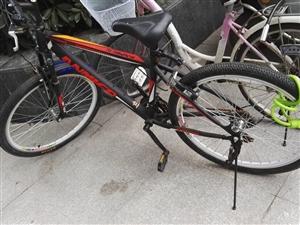 蓝岛山地自行车出售9成新
