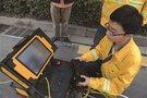 浦口區管道CCTV成像檢測和出租管道機器人