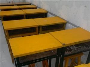 低价急处理补课培训用桌凳黑板