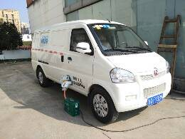 纯电动汽车北汽威旺307厢式货运面包(出租)销售