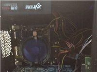 特价888元双核英雄联盟游戏电脑带22寸全新液晶