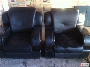 出售8成新办公沙发一套
