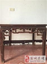 南通柞榛桌子100多年