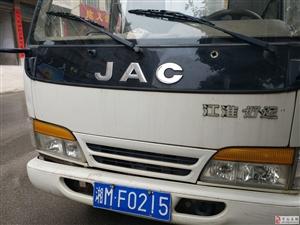 出售江淮厢式货车一辆