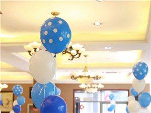 浪漫的气球婚礼布置