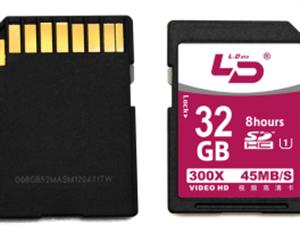 LD和诺SD高清晰高速存储卡全新20张