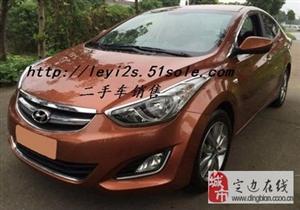 出售二手现代朗动1.6L自动尊贵型轿车