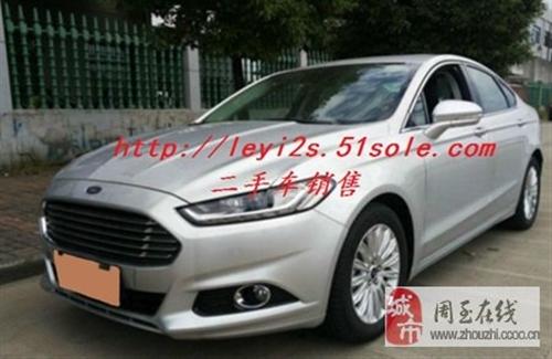 出售二手福特福睿斯1.5L时尚型轿车