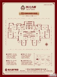 15#楼正面(2单元)标准层改-01