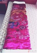 回收八九十年代老丝绸被面缎子被面