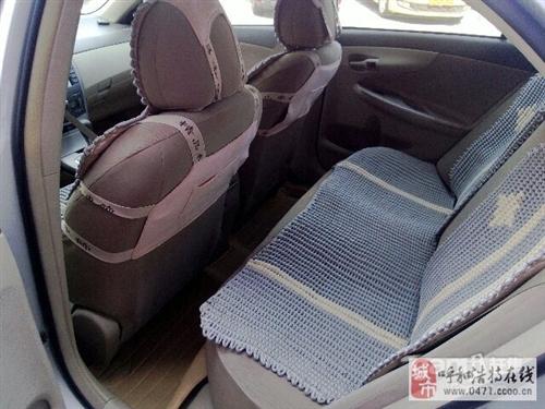 丰田卡罗拉2009款 卡罗拉 1.6 自动 GL 天窗特朱俊州虽然心下疑惑别版