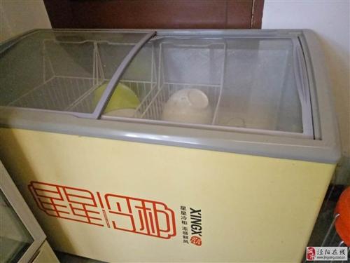 冰柜、展示柜、炒货机转让