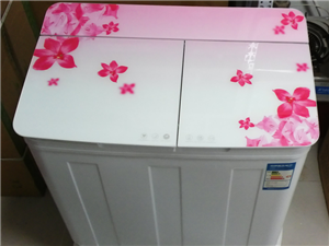 全新品牌7.5公斤大容量双缸洗衣机400元
