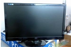 出售冠捷AOC E2752V黑色27寸LED显示器
