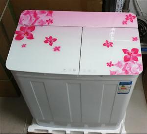 全新品牌双桶双缸洗衣机7.5公斤 400元