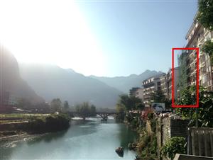 巴马长寿村7层楼房整栋出售或长租河景位置优越