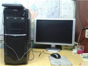 高配四核电脑(22显示器 四核4G内存500G硬盘)