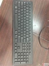 戴尔原装巧克力键盘带多媒体控制键