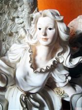 欧美女天使艺术台灯