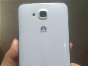 5.5寸白色HUAWEI手机,很新